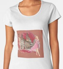 Watercolor Women's Premium T-Shirt