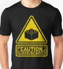 Watch Your Steps Lego T-Shirt