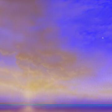 Sunset and Venus by svahha