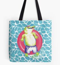 pool gator Tote Bag