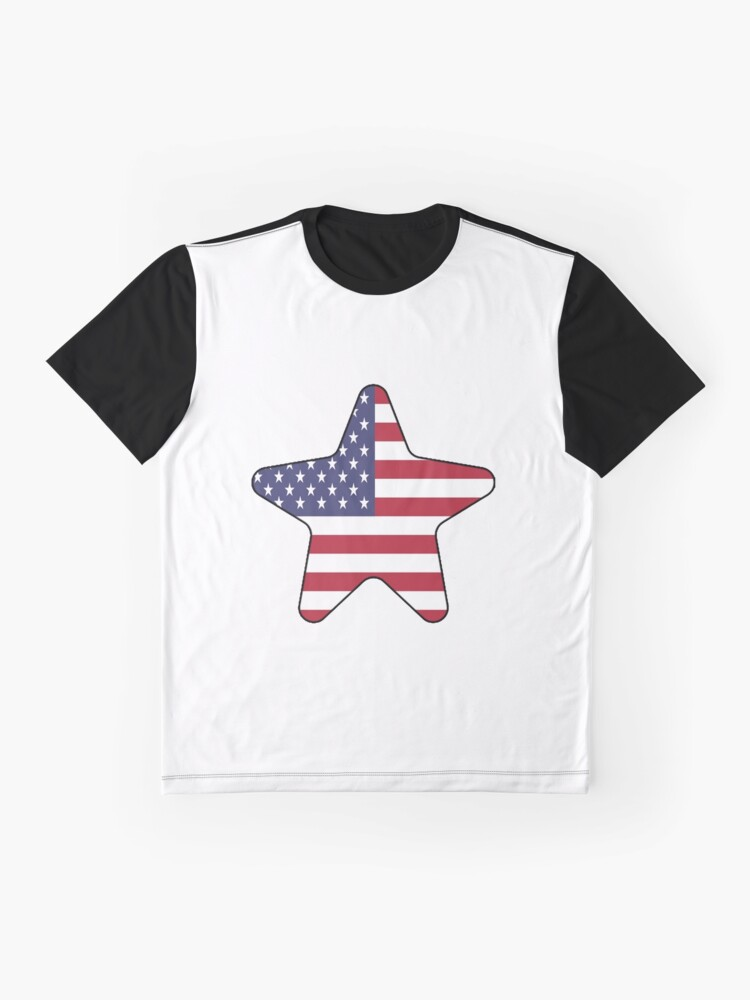 Vista alternativa de Camiseta gráfica American Flag Starfish Happy 4th of July
