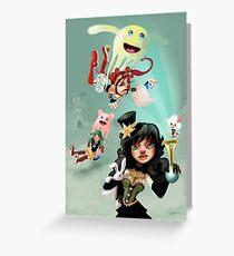 Clown Lolitas Greeting Card