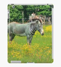 Surrounded by yellow flowers iPad Case/Skin