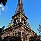 Eiffel Tower, France by Cindy Ritchie