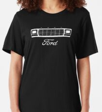 1979 Bronco/F-Series Grille, White Print Slim Fit T-Shirt