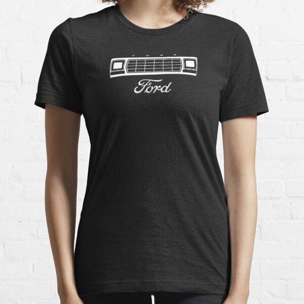 1979 Bronco/F-Series Grille, White Print Essential T-Shirt