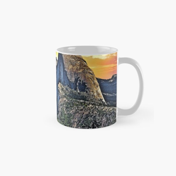 Half Dome From Glacier Point Classic Mug