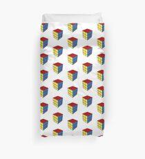 The Rubik's Cube Duvet Cover