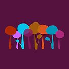 Lollipop trees by iconymous