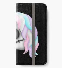 My Little Dead Unicorn | Rainbow Unicorn Skull | Black iPhone Wallet/Case/Skin