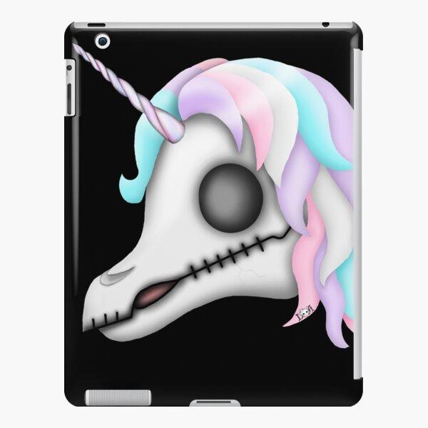 My Little Dead Unicorn   Rainbow Unicorn Skull   Black iPad Snap Case