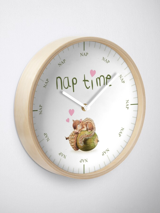 Alternate view of Nap time by Maria Tiqwah Clock