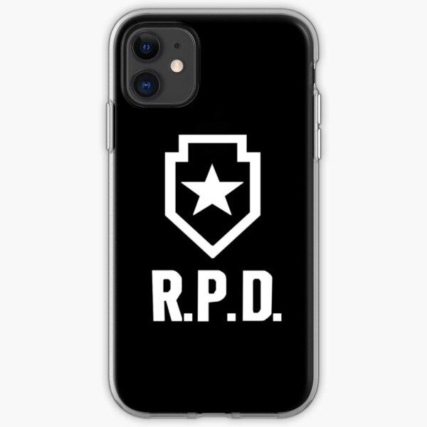 Resident Evil 2: REmake RPD Logo iPhone Soft Case