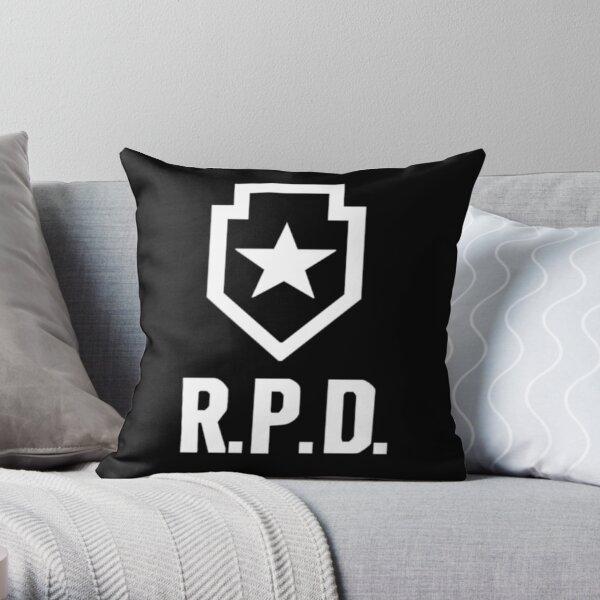 Resident Evil 2: REmake RPD Logo Coussin