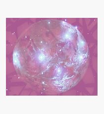 Pink Ghostplanet Photographic Print