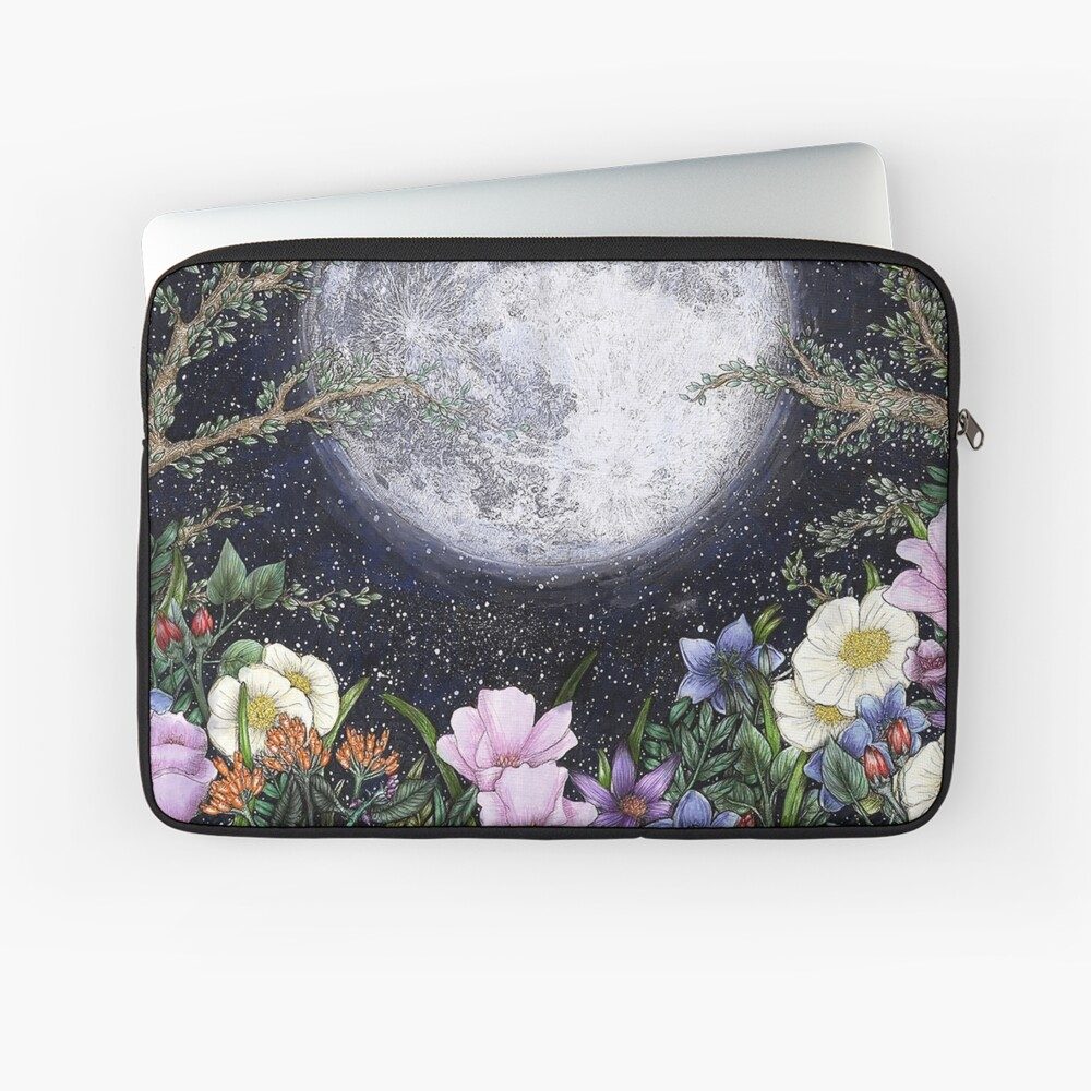 Midnight in the Garden II Laptop Sleeve