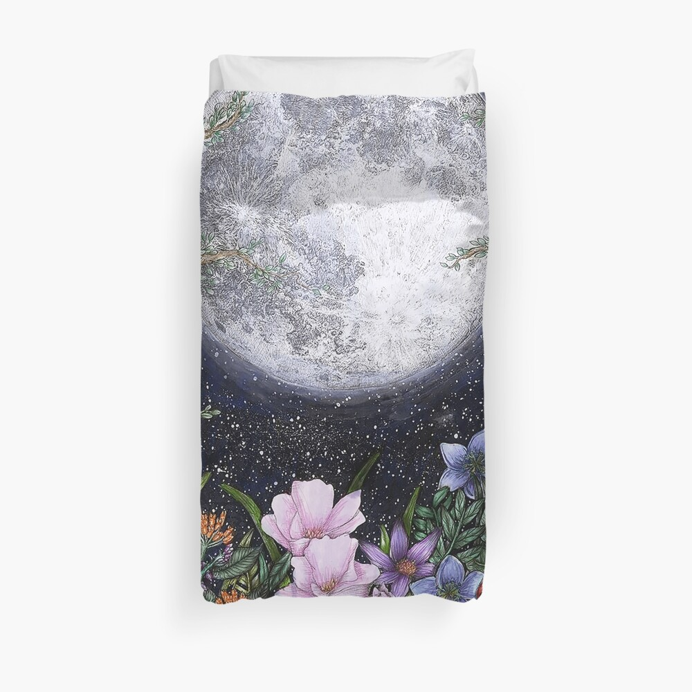 Midnight in the Garden II Duvet Cover