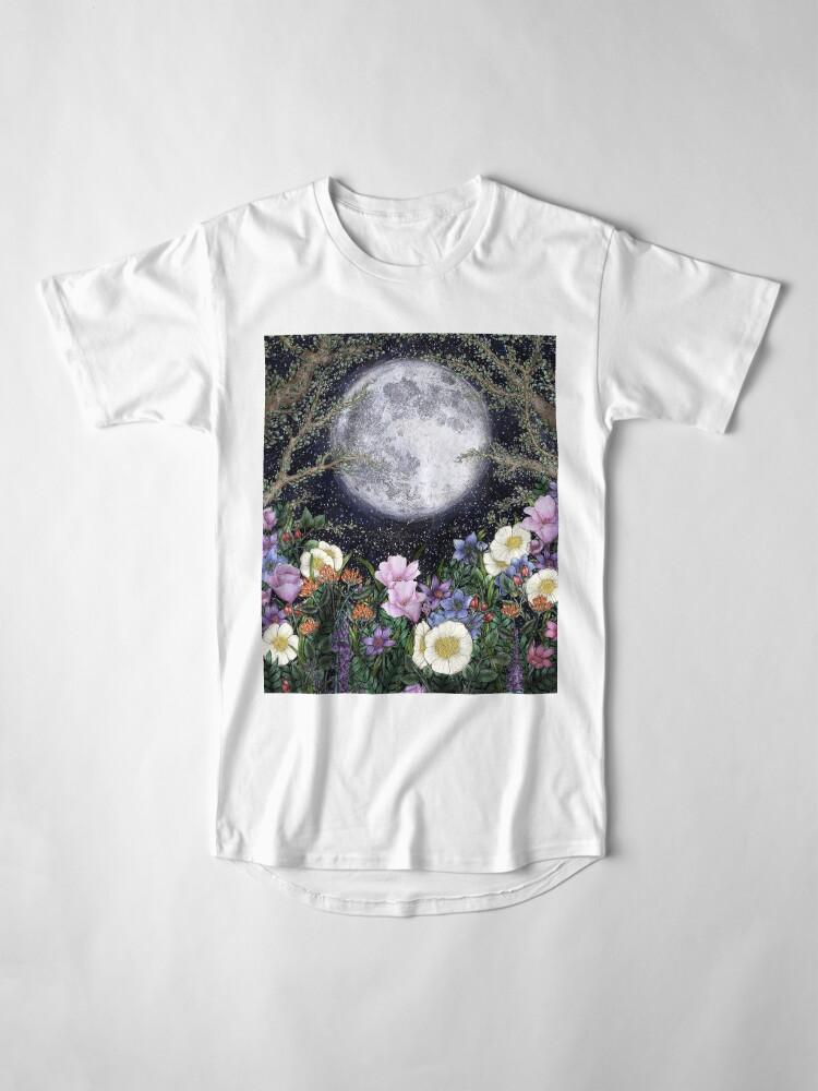 Alternate view of Midnight in the Garden II Long T-Shirt