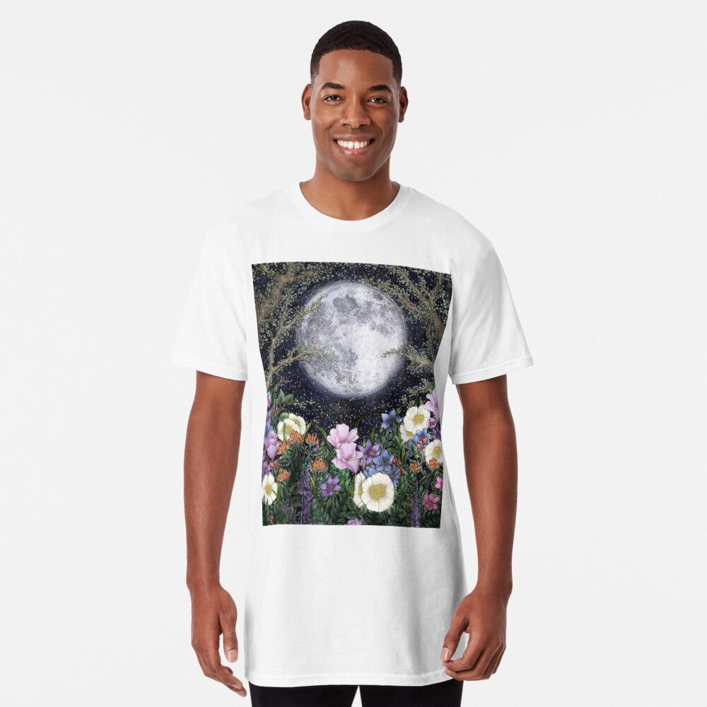 Midnight in the Garden II Long T-Shirt