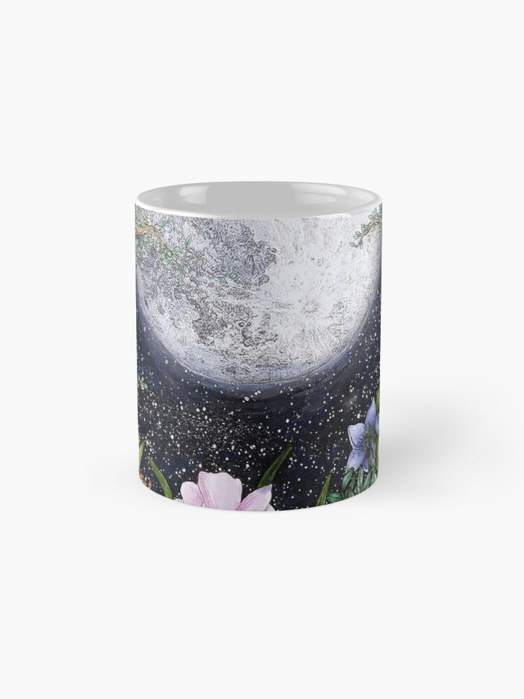 Alternate view of Midnight in the Garden II Mugs