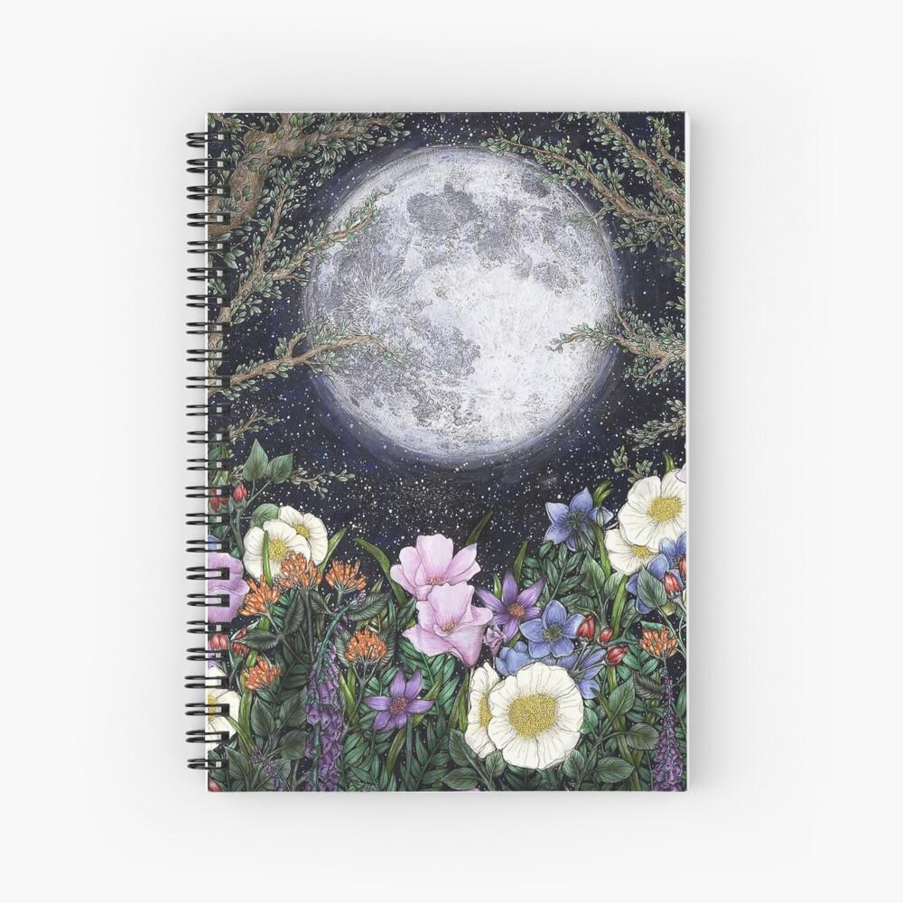 Midnight in the Garden II Spiral Notebook