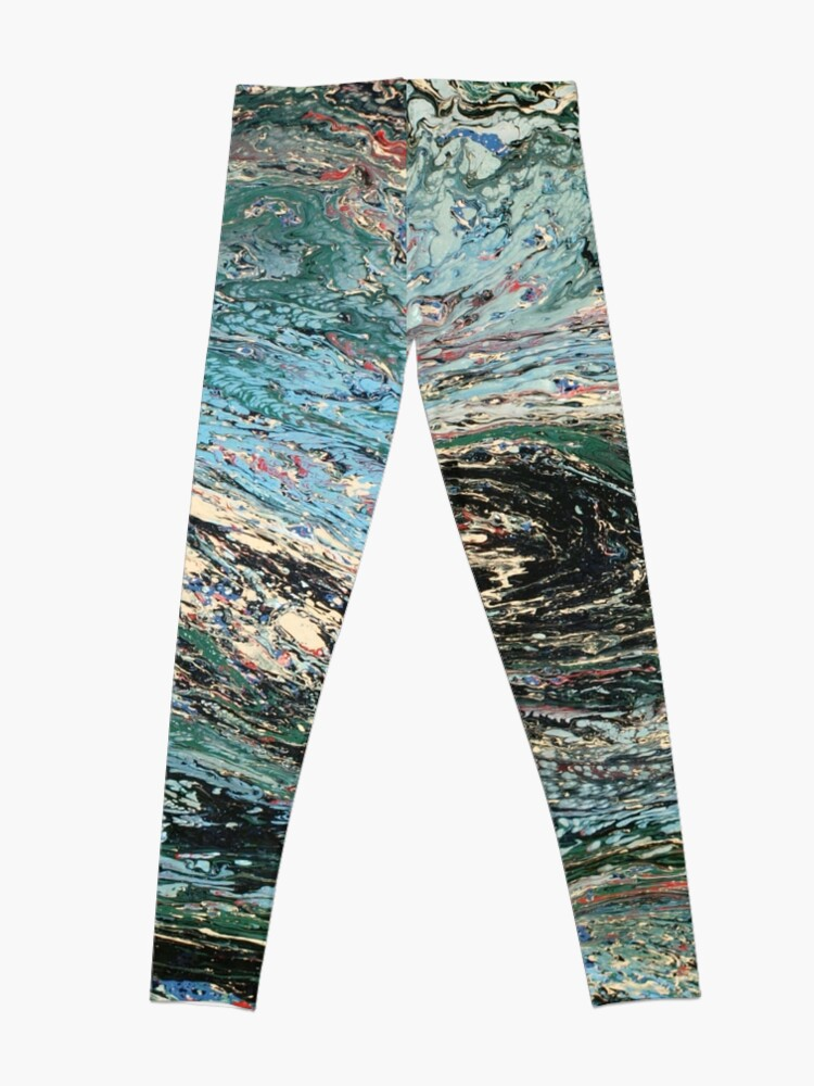 Alternate view of Abstract No. 45  Leggings
