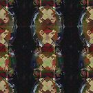 New Abstract Pattern - C - Deep Brown Abstracrtion by Master S P E K T R