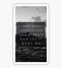 Drown, Bring Me The Horizon Sticker