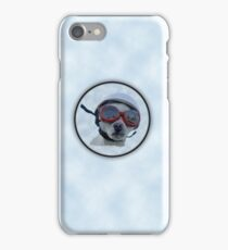 Chihuahua and the Bike Safety Message iPhone Case/Skin