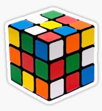 Rubix Cube Sticker