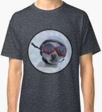 Chihuahua and the Bike Safety Message Classic T-Shirt