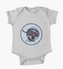 Chihuahua and the Bike Safety Message One Piece - Short Sleeve