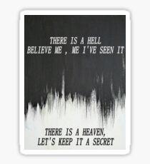 Crucify Me, Bring Me The Horizon Sticker