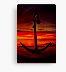 """The Anchor Holds"" Canvas Print"