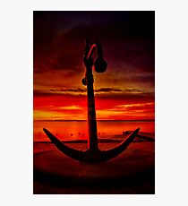 """The Anchor Holds"" Photographic Print"