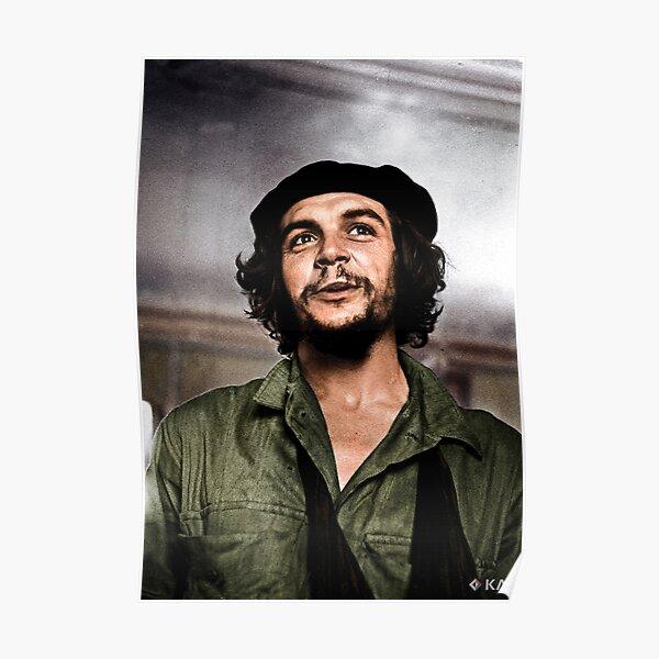 Ernesto Che Guevara, 1959 colorized Poster