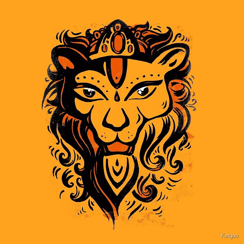 Lion Narasimha.  by Katyau