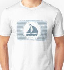 Sailing Boat Nautical Design Unisex T-Shirt