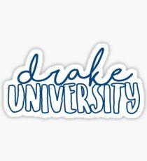 Drake University Sticker