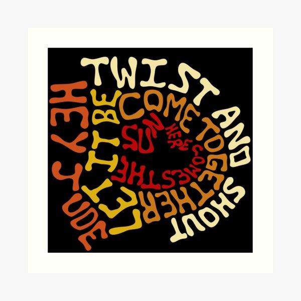 Beatles - Songs Art Print