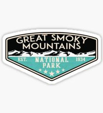 Great Smoky Mountains National Park Tennessee North Carolina Sticker