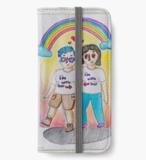 Lesbians March for Pride iPhone Wallet/Case/Skin