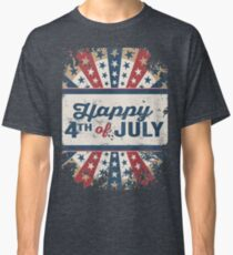 Happy 4th of July Independence Day Classic T-Shirt