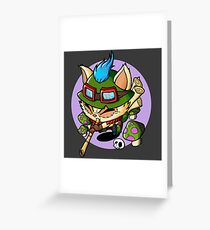 Teemo Greeting Card