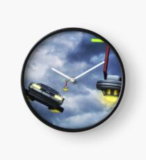 Welcome to Hill Valley - Please Fly Safely Clock
