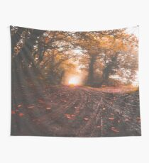 Morning Road Wall Tapestry