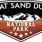 Great Sand Dunes National Park Colorado by MyHandmadeSigns