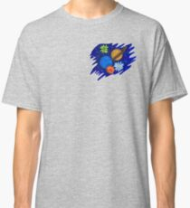Galaxy space/floral design Classic T-Shirt