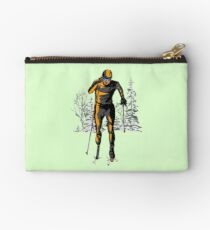 Cross country skiing Studio Pouch