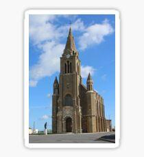 Chapelle Notre Dame de Bonsecours in Dieppe Sticker